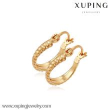 (90094) Xuping moda alta qualidade 18k banhado a ouro brinco