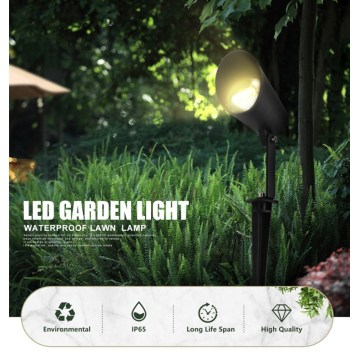 High quality 6W spike light spot lights landscape