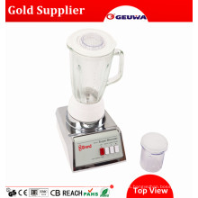 Geuwa Smoothies Batidora Manual de Alimentos Secos con Tarro de Cristal Kd316