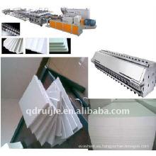 Línea de producción del PVC Celuka tablero