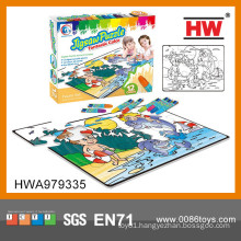 Interesting Drawing Pictures Puzzle Cardboard For Jigsaw Puzzle