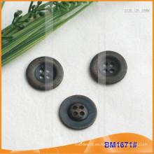 Botón de aleación de zinc y botón de metal y botón de costura de metal BM1671