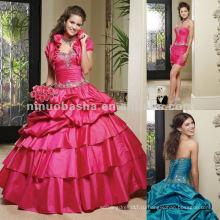 Нью-Йорк-2287 бисером Тафта quinceanera платье