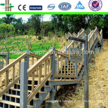 Water-proof, rot resistance wpc stairs
