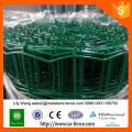 euro style green color pvc coated holland wire mesh fence