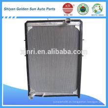 Proveedores de radiadores de camiones de aluminio 1525313106101 para Foton Truck Daimler