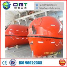 5M barco salva-vidas aberto ou fechado de boa qualidade CCS ABS