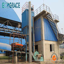 Colector de polvo resistente a altas temperaturas para incinerador de residuos