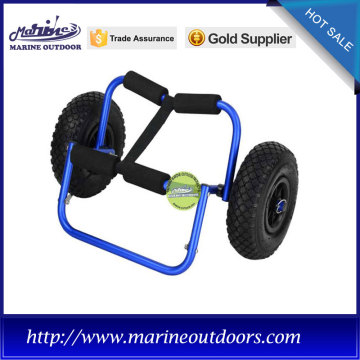 multi-function beach cart with pneumatic wheels