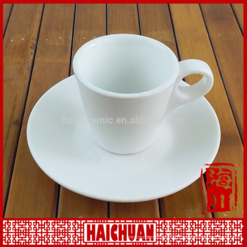 90cc crystal plated porcelain miniature wholesale cup and saucers