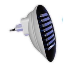 Nouvelle lampe anti-moustique série en alliage d'aluminium