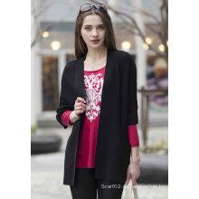 Suéter de cachemira de la rebeca de las señoras (1500002091)