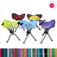 Multicolour three legs folding stool