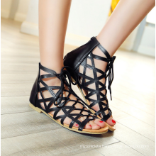 women shoes lace up comfortable summer sandals 2016 for women