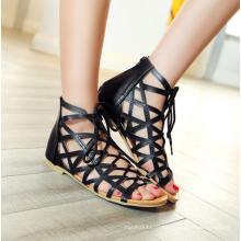 женская обувь зашнуровать удобные летние сандалии для женщин 2016