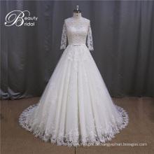 3/4 Ärmel beliebten Damen Braut Kleid 2016