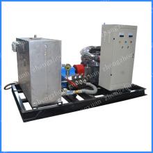 Amido fábrica trocador de calor tubo alta pressão do sistema de limpeza