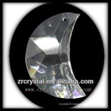 K9 Crystal Moon Shaped Chandelier Pendant