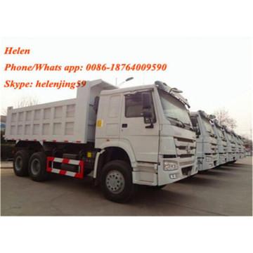 Sinotruk Howo 371hp Dumper Truck For Construction
