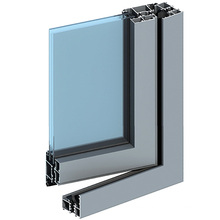 Aluminum Window Door Frame Construction Aluminium Profile Extrusion