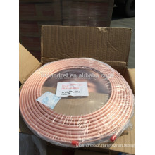 Refrigerant Insulated Copper Coil Copper Pancake Coil 8mm For Air Conditioner