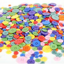 4-Hole Resin Button, Customized Logo and Colors