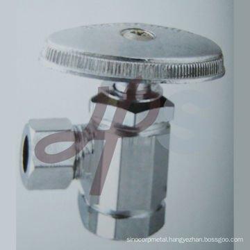 brass angle supply valve