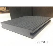 Placa tampada durável nova da tecnologia WPC da extrusão de madeira super