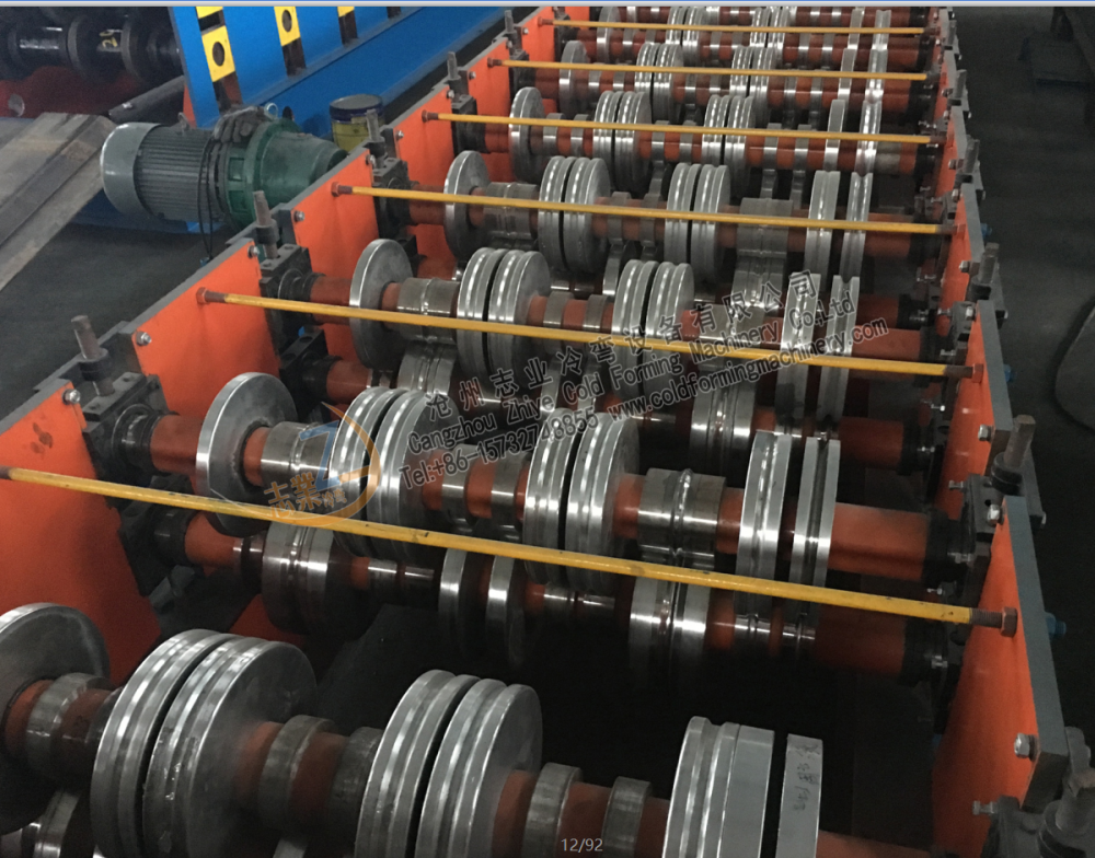 Steel Floor Decking Tile Roll Forming Machine