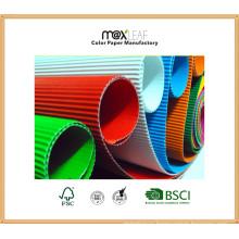 Размер 500 * 700 мм Цветная гофрированная бумага