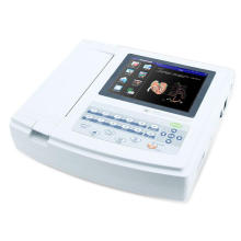 Medical 12 Lead ECG Machine with Touch Screen ECG1200g