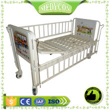 BDB01 Cheap comfortable cartoon children bed with single crank