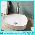 Современный дизайн Тонкий край ванной умывальник Керамический бассейн