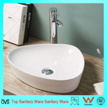 Design Contemporâneo Thin Edge Bathroom Wash Basin Ceramic Basin