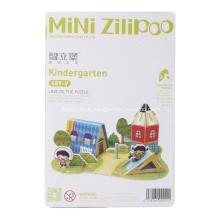 3D Puzzle o jardim de infância
