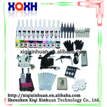 New Design tattoo microblade eyebrow Kits Complete Tattoo Gun Sets with 2 tatoo gun ink power supply
