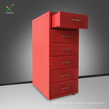 Armário de armazenamento de arquivo móvel do metal do armário do arquivo do preço bom com gaveta
