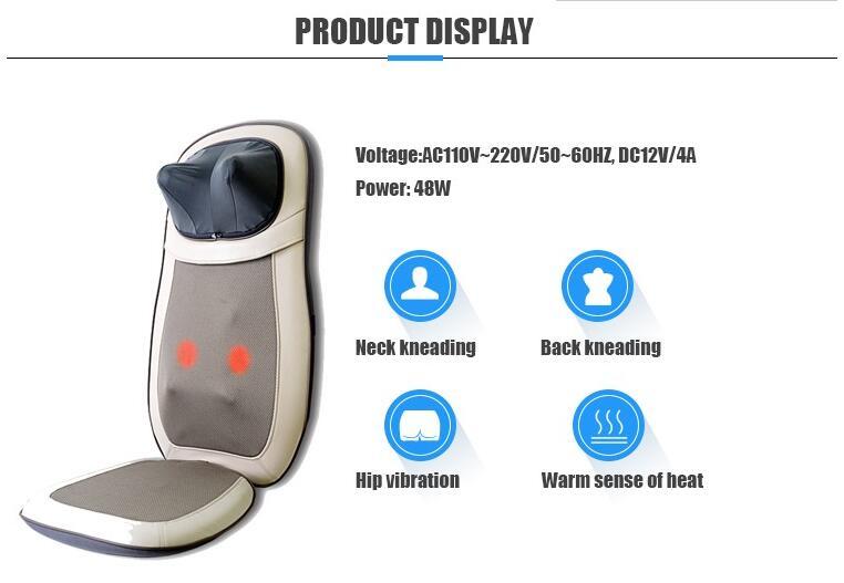 Infrared Neck Back Massage Cushion