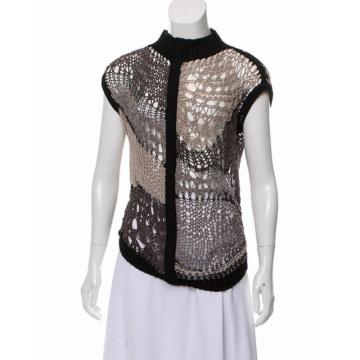 Sexy Ladies Black Lace crochet Top