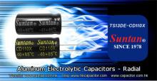 Suntan General Super Miniaturized Aluminum Electrolytic Capacitor TS13DE-CD110X