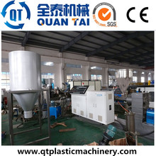 HDPE PP Flakes / Caps Recycling Machinery / Pelletizing Line