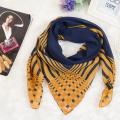 100%polyester custom printing dubai muslim scarf with gold design