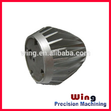 ningbo customized die casting Led lamp shade or cover part