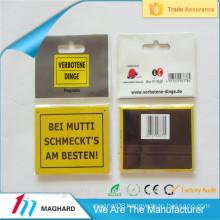China manufacturer factory best price customized inspirational tin refrigerator magnet