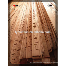 furniture use beech wood moulding flexible wood trim