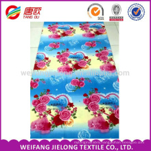 100% Polyester printed Fabric wholesale for Bedsheet Bedding set
