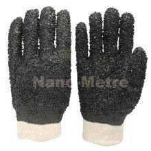 NMSAFETY PVC construction sécurité rugueuse fini gants
