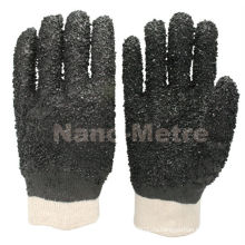 NMSAFETY конструкция PVC безопасности грубо закончил перчатки