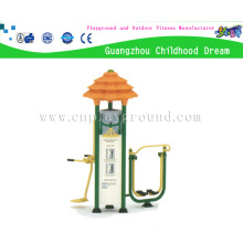3 Station Outdoor Playground Fitness Equipment, Outdoor Fitness Equipment on Stock