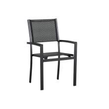 Все наружные стулья из алюминиевой сетки